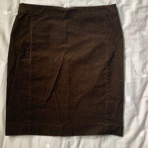 Jcrew corduroy pencil skirt
